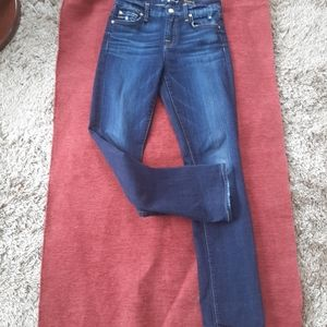 7 for all mankind jeans Kimmie straight leg.